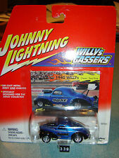 JOHNNY LIGHTNING WILLYS GASSERS 1940 WILLYS Terry Rose 1/64 new in pkg