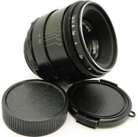 ⭐SERVICED⭐ MMZ ⇒ BelOMO HELIOS 44-2 Lens M42 + TOP Quality Adapt. Canon EF Mount