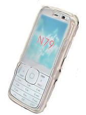 Crystal Case Cover Handy Hülle Schale Schutz für  Nokia N79 in Transparent