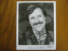 TOM  CHAPIN  Signed  8 x 10  Glossy  B & W Photo (NATIONAL  GEOGRAPHIC EXPLORER)