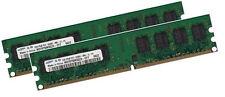 2x 1gb 2gb Samsung RAM PC memoria 533 MHz ddr2 pc2-4200u pc2-5300u 240 pin DIMM