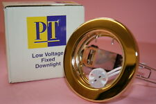 QTY 100 LOW VOLTAGE BRASS DOWN LIGHT FITTING LED / HALOGEN BEST QUALITY     afp6