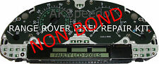 Range Rover L322 Speedo Instrument Cluster LCD Pixel Repair Non Bond Ribbon