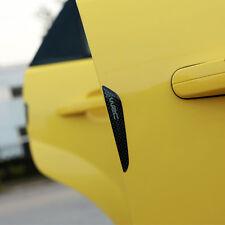 4x Car SUV Bumper Door Edge Decorative Black Protector Crash Bar Anti-rub Strips