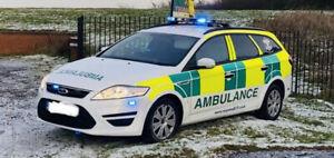 Ford Mondeo Estate Ex NHS RRV ambulance