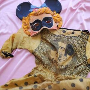 Vintage 1950s Mouseketeer Costume Ben Cooper Inc New York Halloween Costume Walt