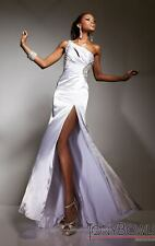 **SUPER SALE!!** Tony Bowls Le Gala Prom Dress 113501 White Size 10 NWT