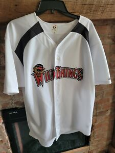 Washington Wild Things Badger Frontier League baseball Jersey L Game used A6