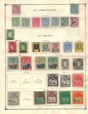 St Helena Collection from Huge Scott Intern Album - 1840-1940
