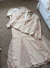 VENI INFANTINO FOR RONALD JOYCE MOTHER OF THE BRIDE OUTFIT GOLD DIAMANTE SIZE 22
