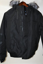 #50 POINT ZERO Down Fill  Hooded bOMBER Jacket Size S