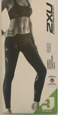 NWT 2XU PWX Women's Compression Tights Black/Black SMALL