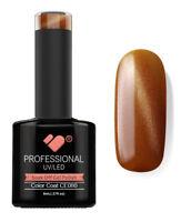 CE080 VB Line Cat Eye Brown Metallic - UV/LED nail gel polish - super quality