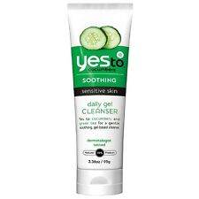 Yes to Cucumbers Soothing Daily Gel Cleanser, Sensitive Skin 3.38 oz