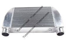 "CXRacing Universal V-Mount Turbo Intercooler 25""x12""x4"" 1-Side Bar & Plate"
