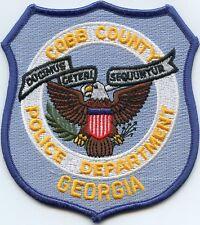 COBB COUNTY GEORGIA GA POLICE PATCH
