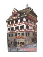 Nürnberg Dürer Haus Holz Souvenir Deluxe Magnet Germany Neu