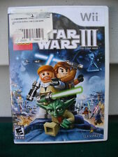 NINTENDO WII LEGO STAR WARS III GAME COMPLETE & TESTED