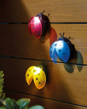 Ladybird Solar Light 3 Pack Garden / Patio Lighting / Novelty / Multicoloured