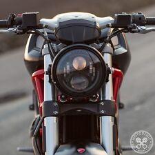 Motodemic Evo2 LED Headlight Conversion 08-14 Ducati Monster 696 796 1100 Black