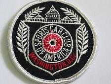 Washington DC Sports Car Club Of America Patch (#4624)*