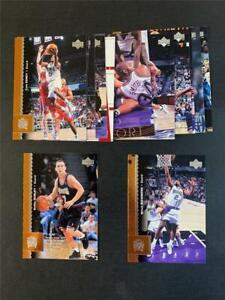 1996/97 Upper Deck Sacramento Kings Team Set 13 Cards