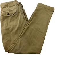 AE AMERICAN EAGLE Next Level Flex Mens Slim Straight Pants Size 28x30 Beige