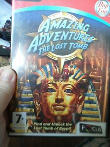 Amazing Adventures The Lost Tomb, PC CD-Rom Game.