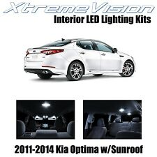 XtremeVision LED for Kia Optima 2011-2014 (10 Pieces) Pure White Premium Interio