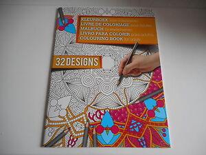 LIVRE DE COLORIAGE ADULTE - 16 PAGES - 32 DESSINS