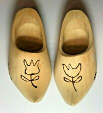 Dutch Wooden Clogs Shoes for Dolls Tulips Mary Kristine Dutch Dancer Holland