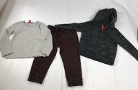 unionbay boys 3 pieces set sweater jogger pants shirt Size 4T NWT