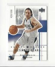 2003-04 Ultimate Collection #168 Steve Nash  Mavericks /500