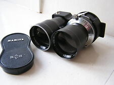 Mamiya Sekor 180mm Lens Mamiyaflex Film Camera Leather Case