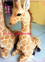 Super Soft toys Stuffed Animal doll gift 85cm Lovely Giant giraffe plush big
