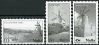 Malta Architecture Stamps 2003 MNH Windmills Tourism & Landscapes 3v Set