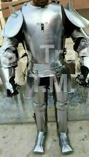 Medieval Knight Suit Of Armor 15Th Century Combat Full Body Wearable Armor X-Mas