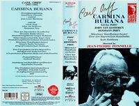 VHS -- Carl ORFF - Carmina BURANA --