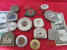 lot of old tape measures