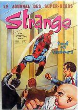 FUMETTO LE JOURNAL DES SUPER HEROS STRANGE N.66 1975 MARVEL UOMO RAGNO IRON MAN