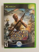 Medal of Honor: Rising Sun (Microsoft Xbox, 2003) Complete Tested