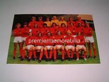 Holanda Países bajos 1974 finales de Copa del Mundo Squad Johan Cruijff Neeskens Rep Krol