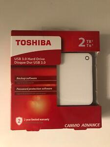 Disque dur externe TOSHIBA CANVIO ADVANCE 2 TO. Neuf
