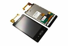 Original HTC HD Mini T5555 LCD Display Touchscreen Komplett Glas Kleber black