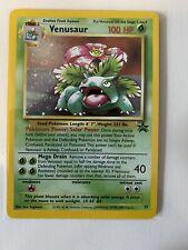 New listing Venusaur Pokemon Card Black Star Promo Holo #13 Rare Foil Card Nm/M Near Mint