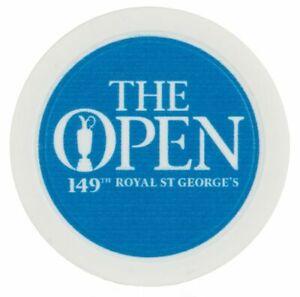 2021 OFFICIAL (Royal St Georges) BRITISH OPEN (Lt.Blue/Wht) POKER CHIP