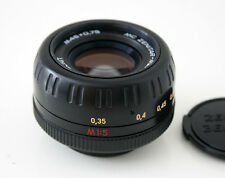 Zenit MC Zenitar - M2s Objekitv Lens 1:2/50 mm sehr scharf M42 Objekitv Lens
