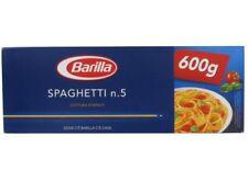 Lot 7 paquets  Pâtes spaghetti n°5, Barilla 7x600 g DLC LONGUE