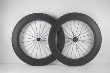 88mm Clincher carbon fiber road bike wheelset 700C carbon wheels ship from USA