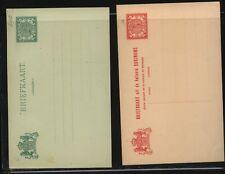Suriname   2  postal  cards   unused      MS0708